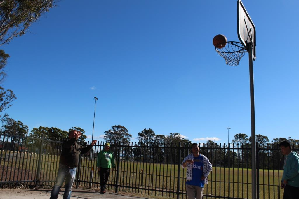 Basketball Challenge for TJW Junk Free June