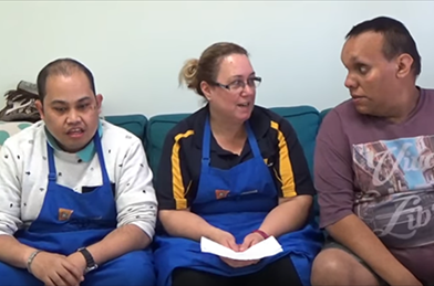 TJW Cooking Challenge - community programs for disability